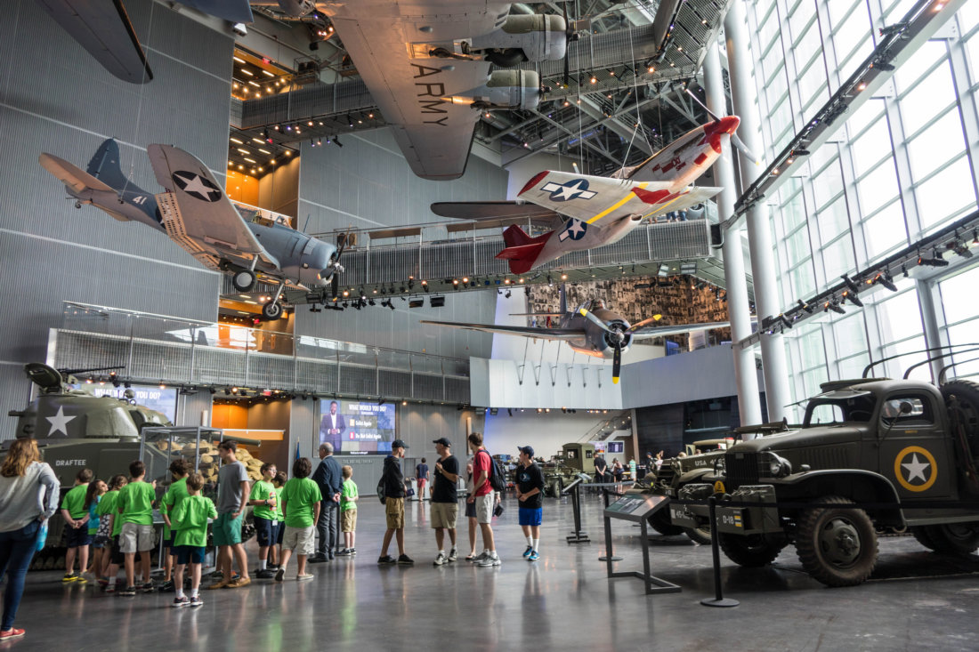 An absolute do-not-miss attraction when visiting New Orleans is the National WWII Museum. It's one of the most popular museums in the country, and with good reason. It's sprawling campus spans several city blocks, and it's currently in the middle of another large expansion.