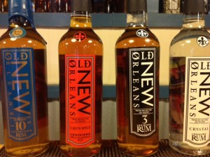 Tours include a sample of all four Old New Orleans Rums.