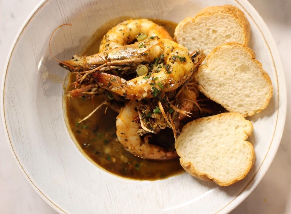 Rosedale's Rosemary BBQ Shrimp (via Rosedale on Facebook)