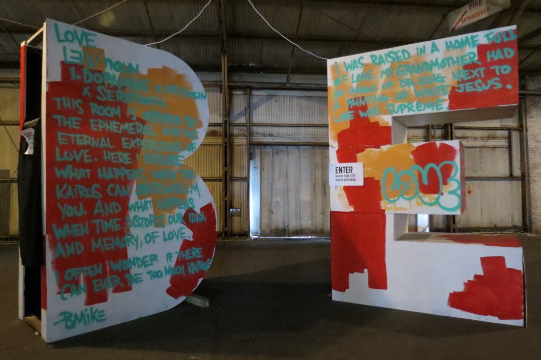 StudioBE interactive exhibit (photo credit Emily Ramirez Hernandez)