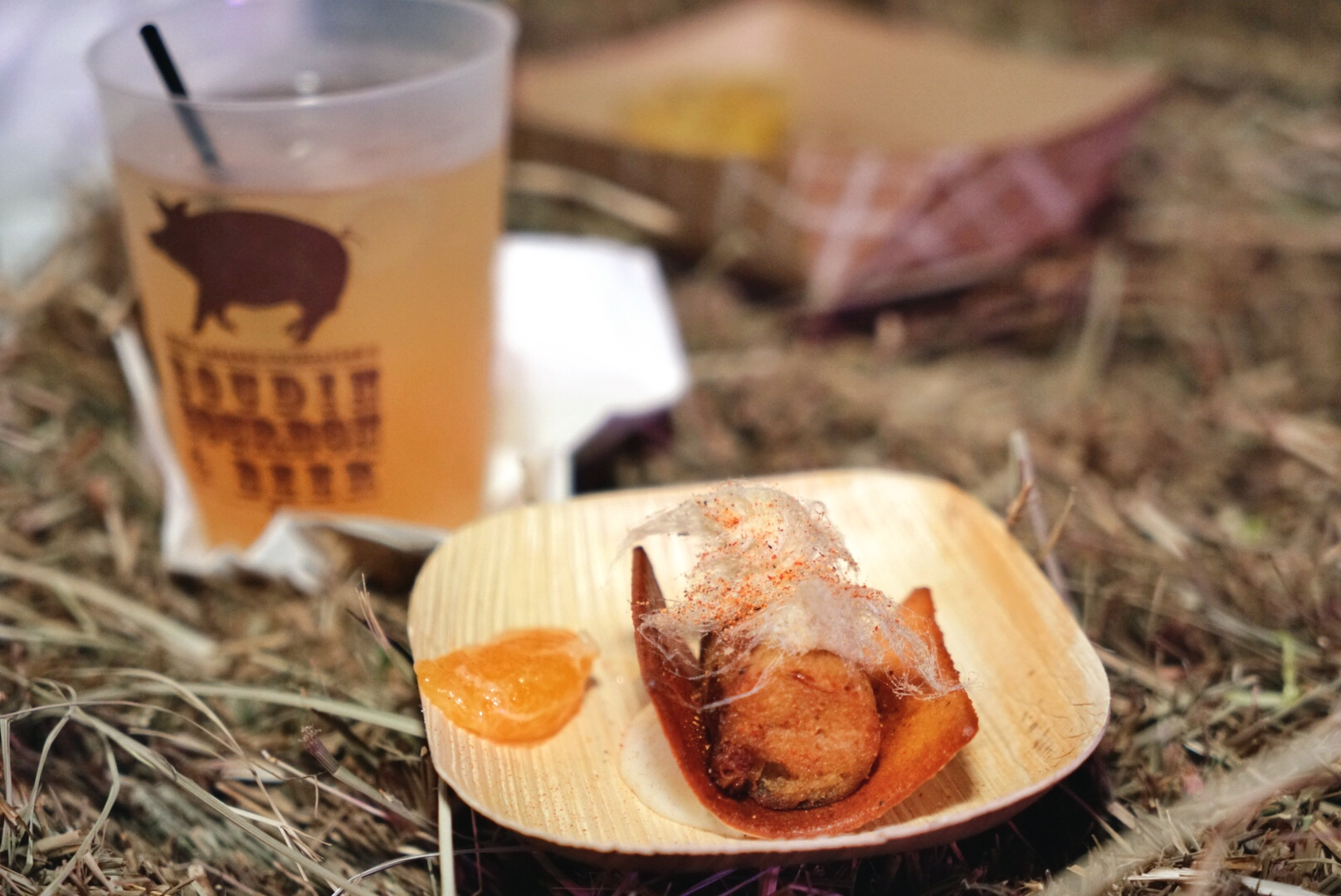 Chef creations at Boudin, Bourbon & Beer (Photo via Paul Broussard)