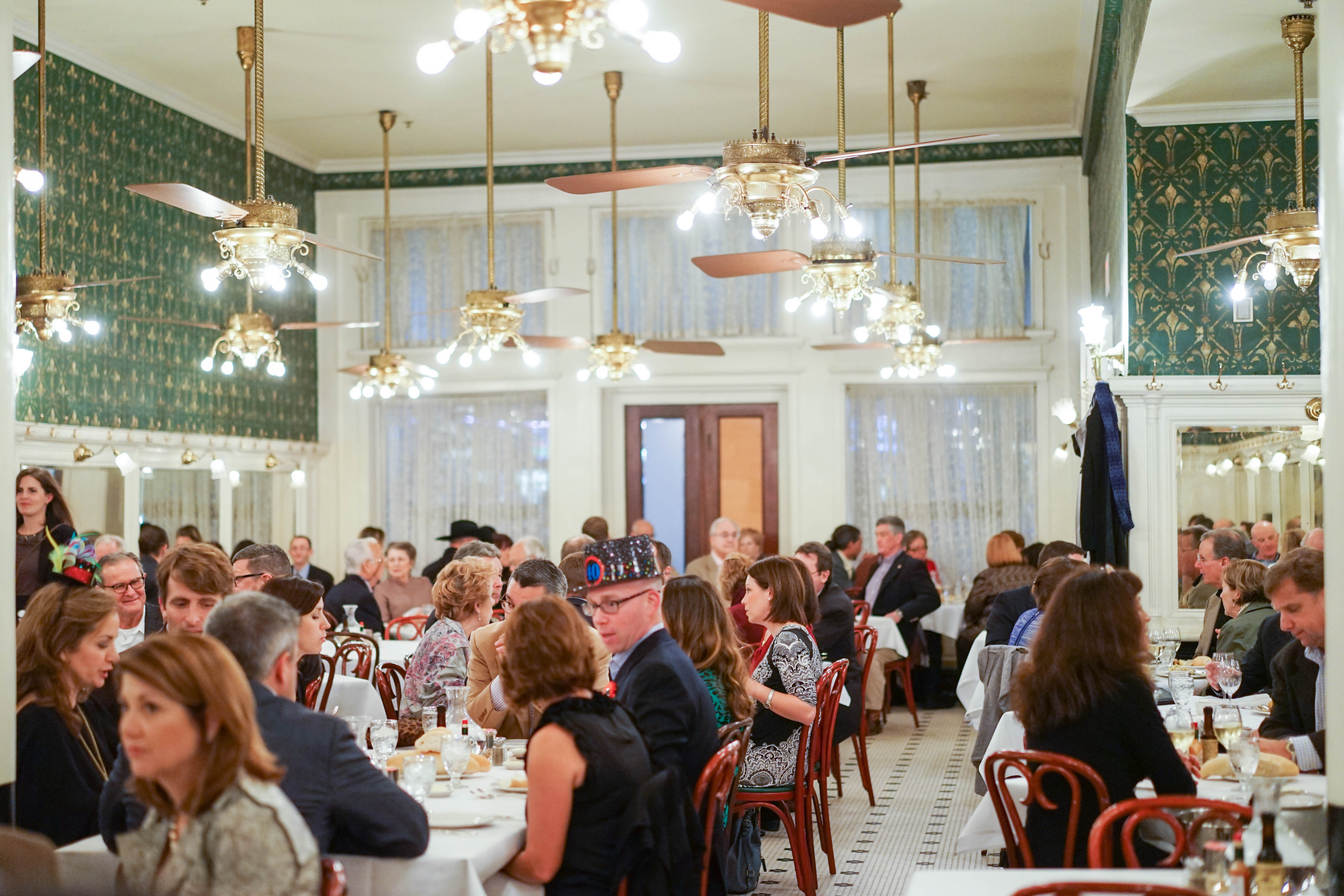 Galatoire's - From Gulf to Table Dinner with Chef Michael Sichel