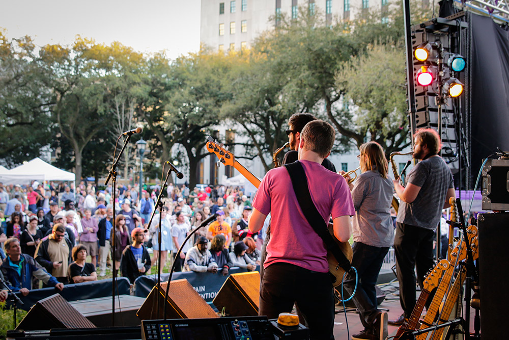 Wednesdays at the Square brings live music to Lafayette Square. (Photo: Rebecca Ratliff)