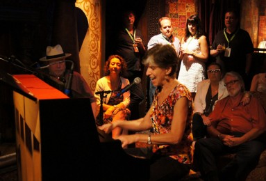 Marcia Ball at WWOZ Piano Night courtey of WWOZ