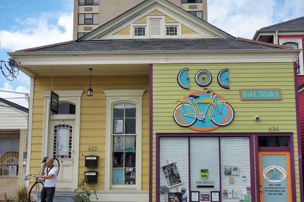 biking in new orleans, new orleans bike rental