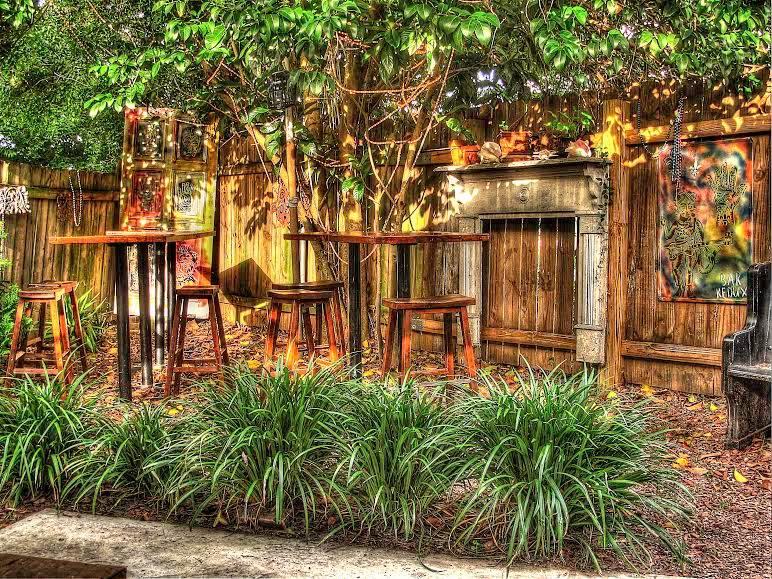 The back patio at Bar Redux. (Photo by Jeffery Davitt via Bar Redux on Facebook)
