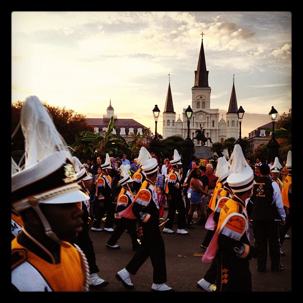 new orleans parade, bayou classic