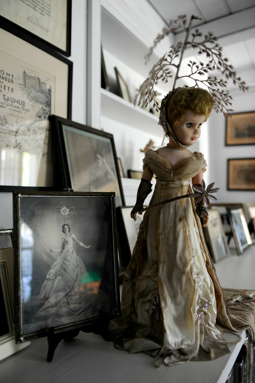 Historic objects inside the Beauregard-Keyes house contribute to the sense of otherworldly spirits. (Photo: Cheryl Gerber)
