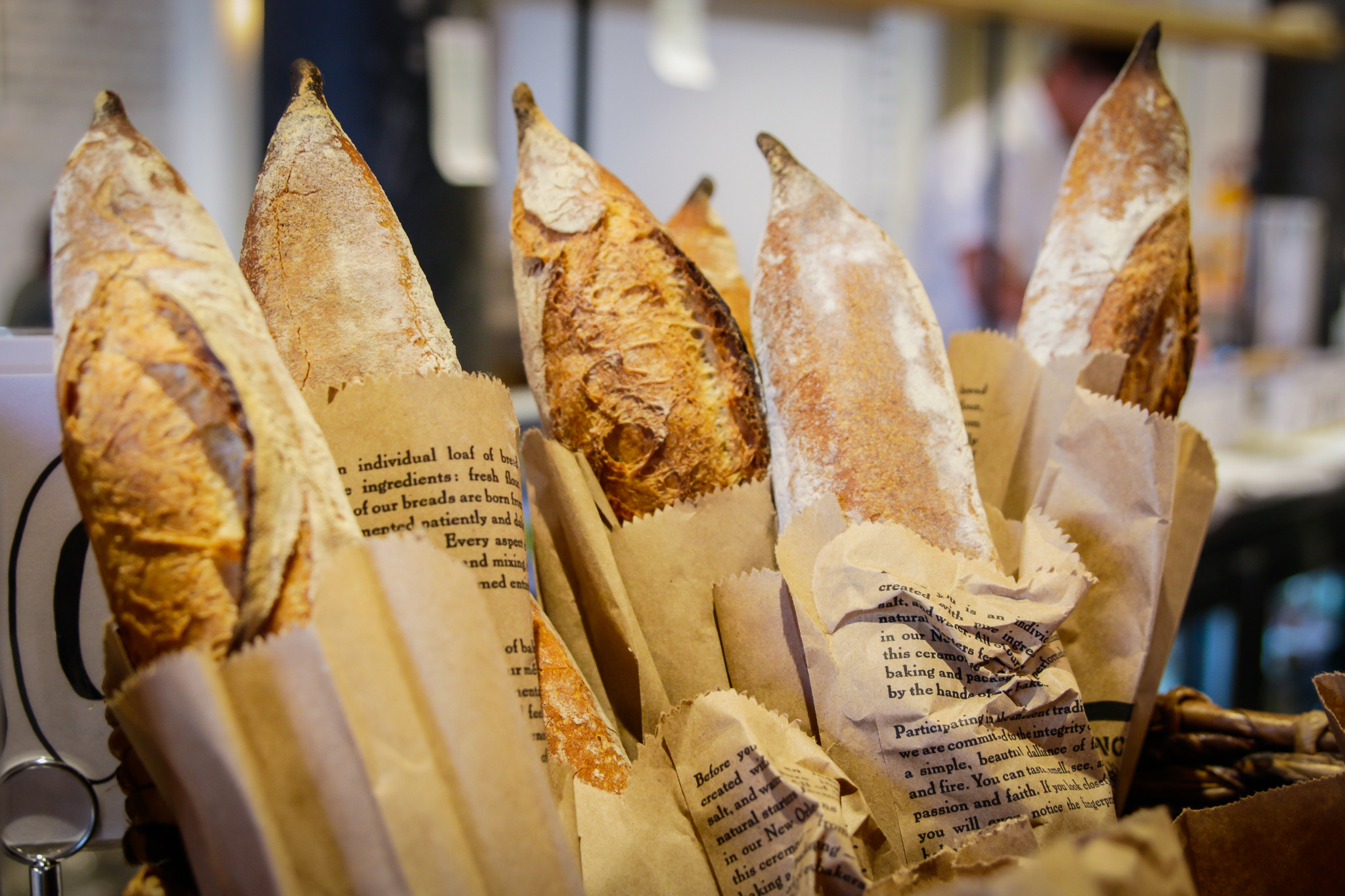 Bellegarde bread at St. James Cheese Co. (Photo: Rebecca Ratliff)