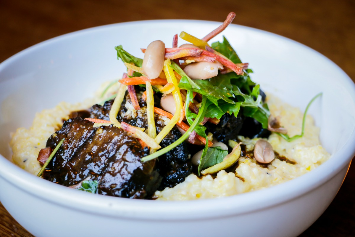 Short ribs and grits from Brown Butter. (Photo: Rebecca Ratiff)