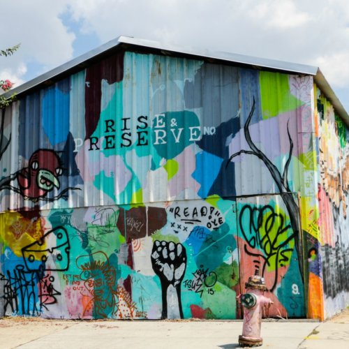 bywater mural