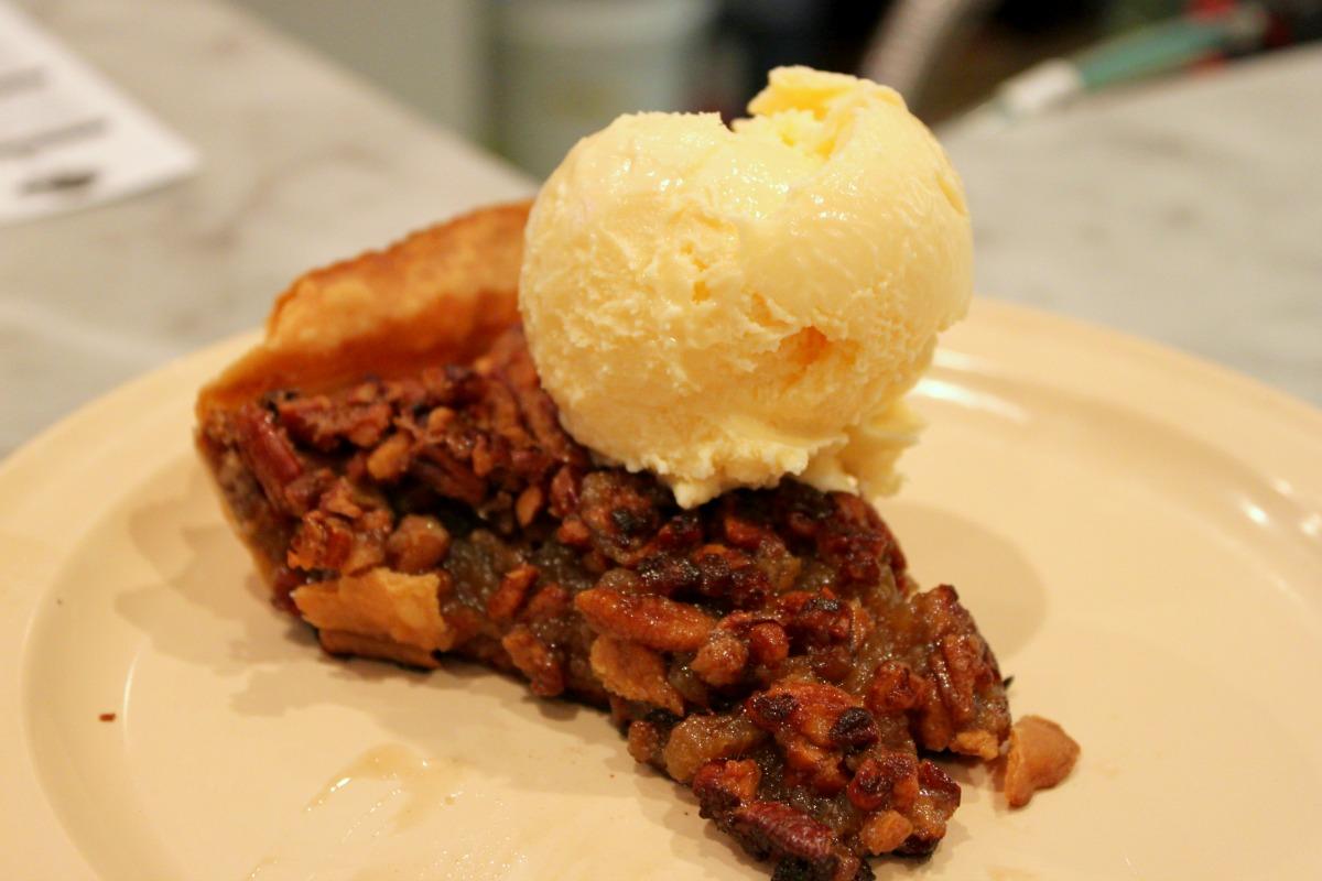 The griddled pecan pie at Camellia Grill. (Photo courtesy of Emily Smith via Fleurdelicious-Nola.com)