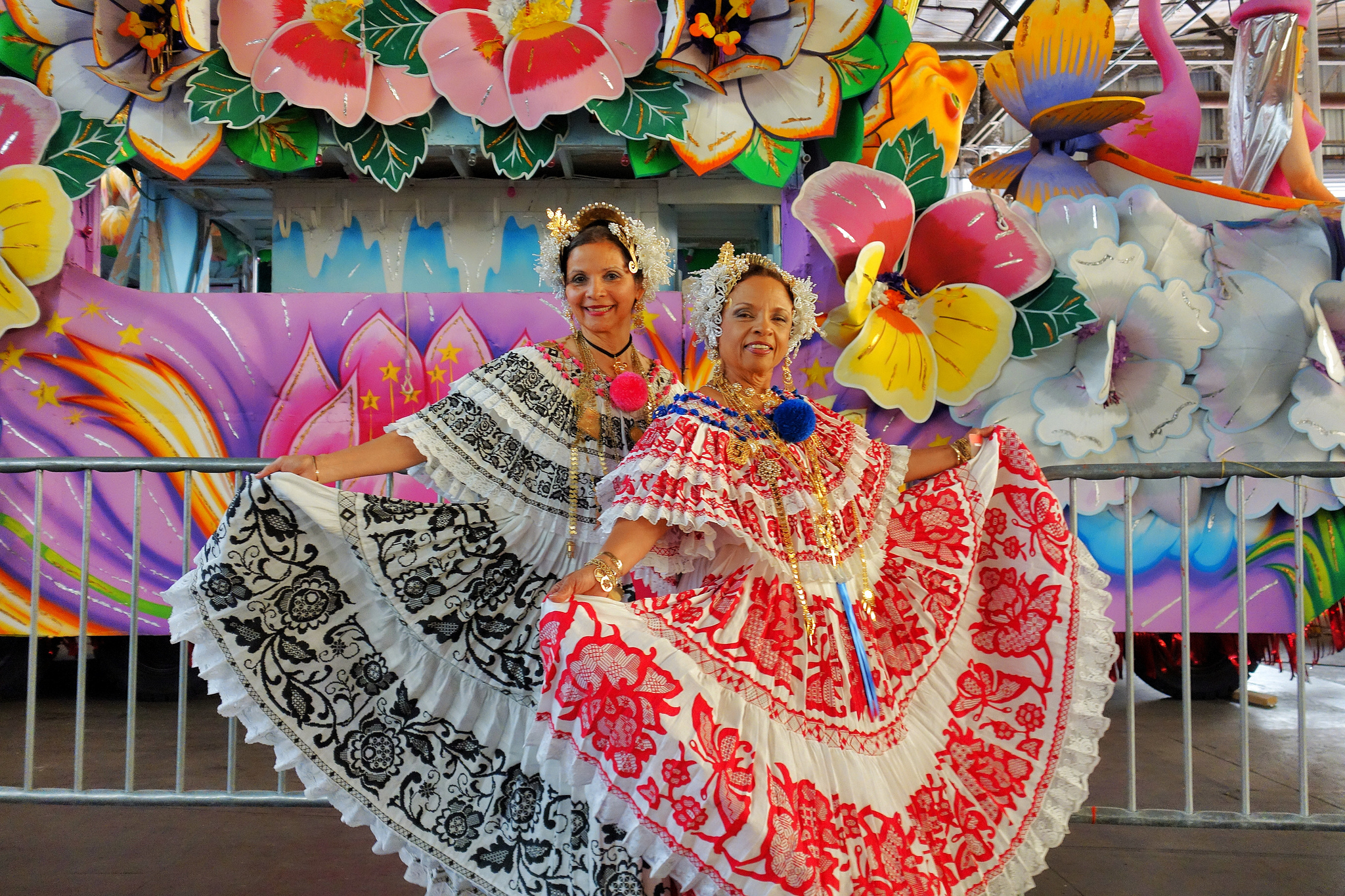 Traditional costumes at Carnaval Latino. (Photo: Paul Broussard)