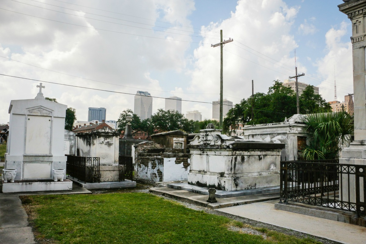 St. Louis Cemetery No. 2. (Photo: Rebecca Ratliff)