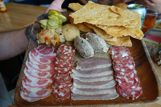 Charcuterie from Cochon Butcher. (Photo: Paul Broussard)