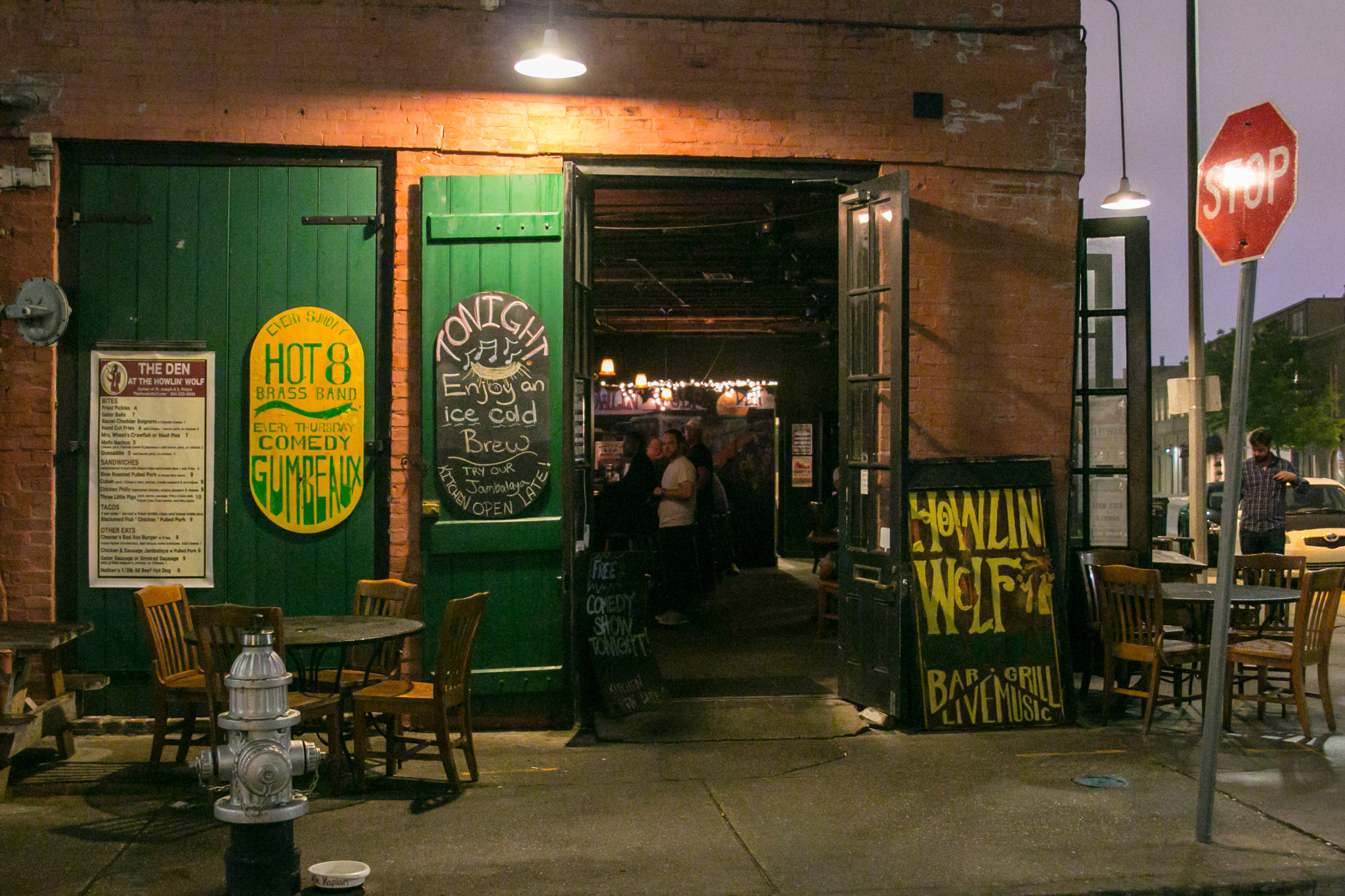 The Den sits inside Howlin' Wolf, located in the Warehouse District. (Photo: Rebecca Ratliff)