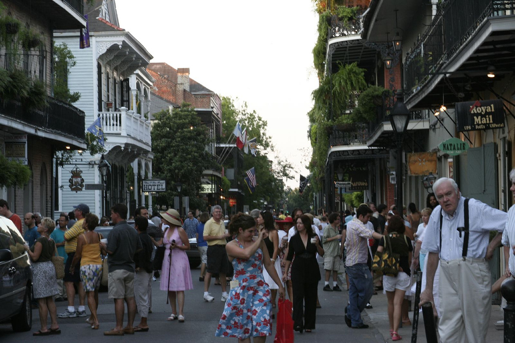 new orleans french quarter, new orleans events