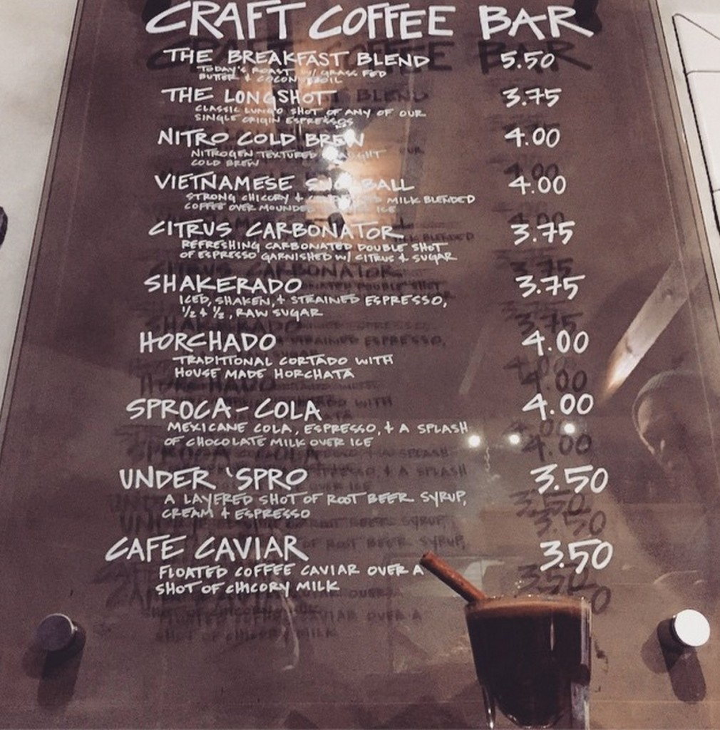 District's coffee cocktails