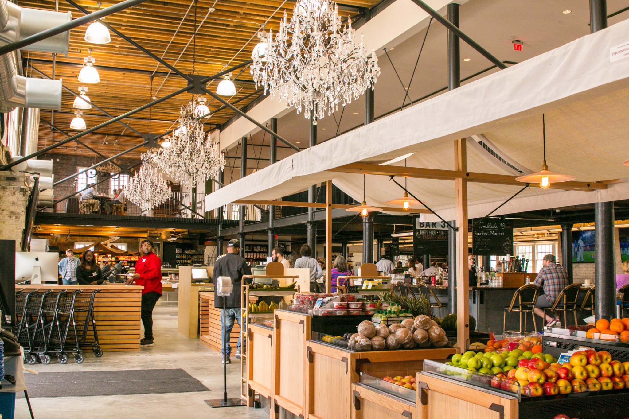 The deliciously appointed Dryades Public Market (Photo: Rebecca Ratliff)