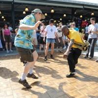French Quarter Fest Dancing