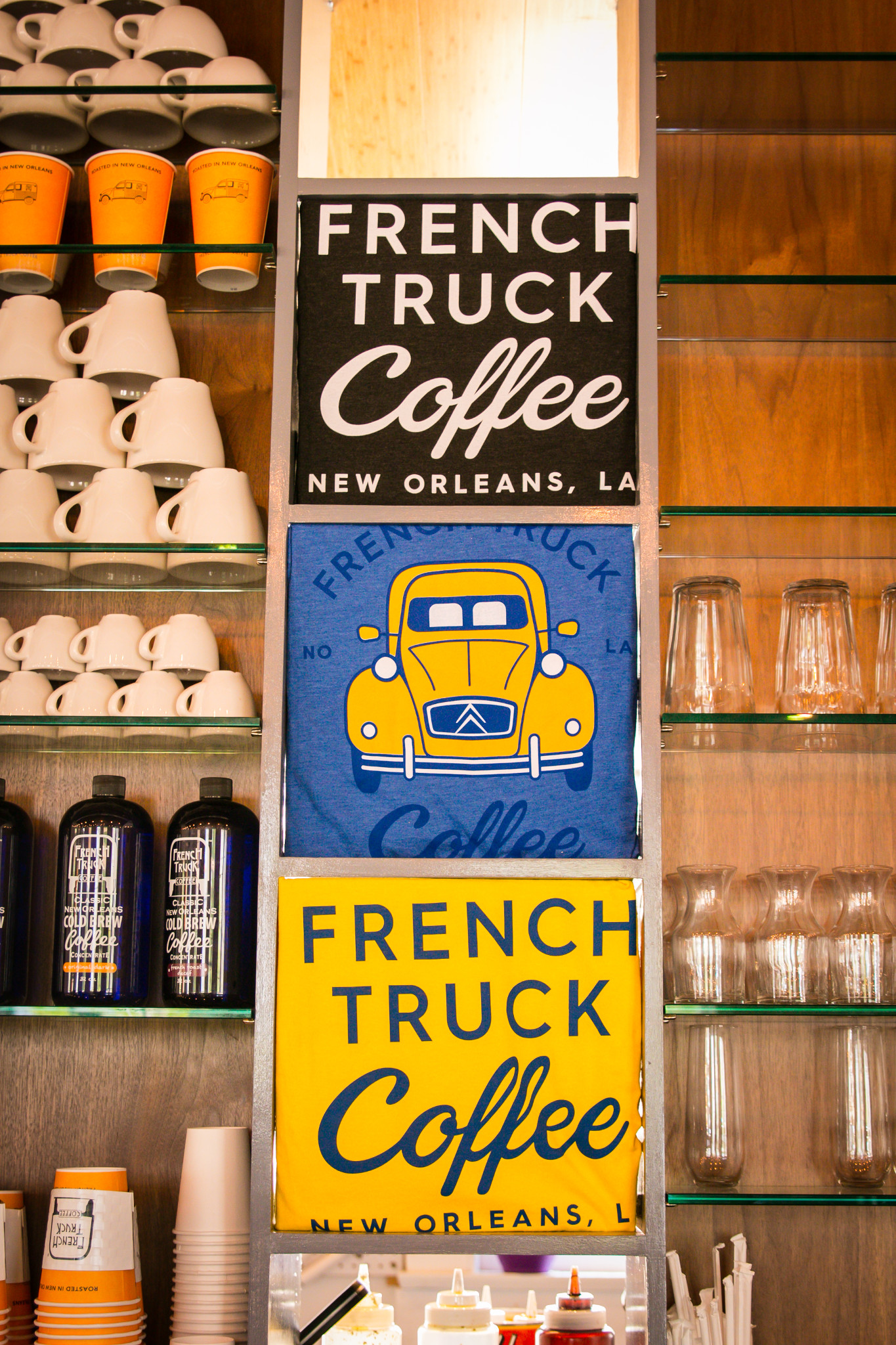 Local roasters French Truck Coffee have two neighborhood outposts plus availability in grocery stores across the city. (Photo: Rebecca Ratliff)