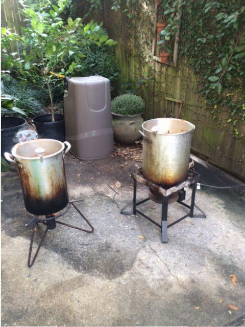 fried turkey pots
