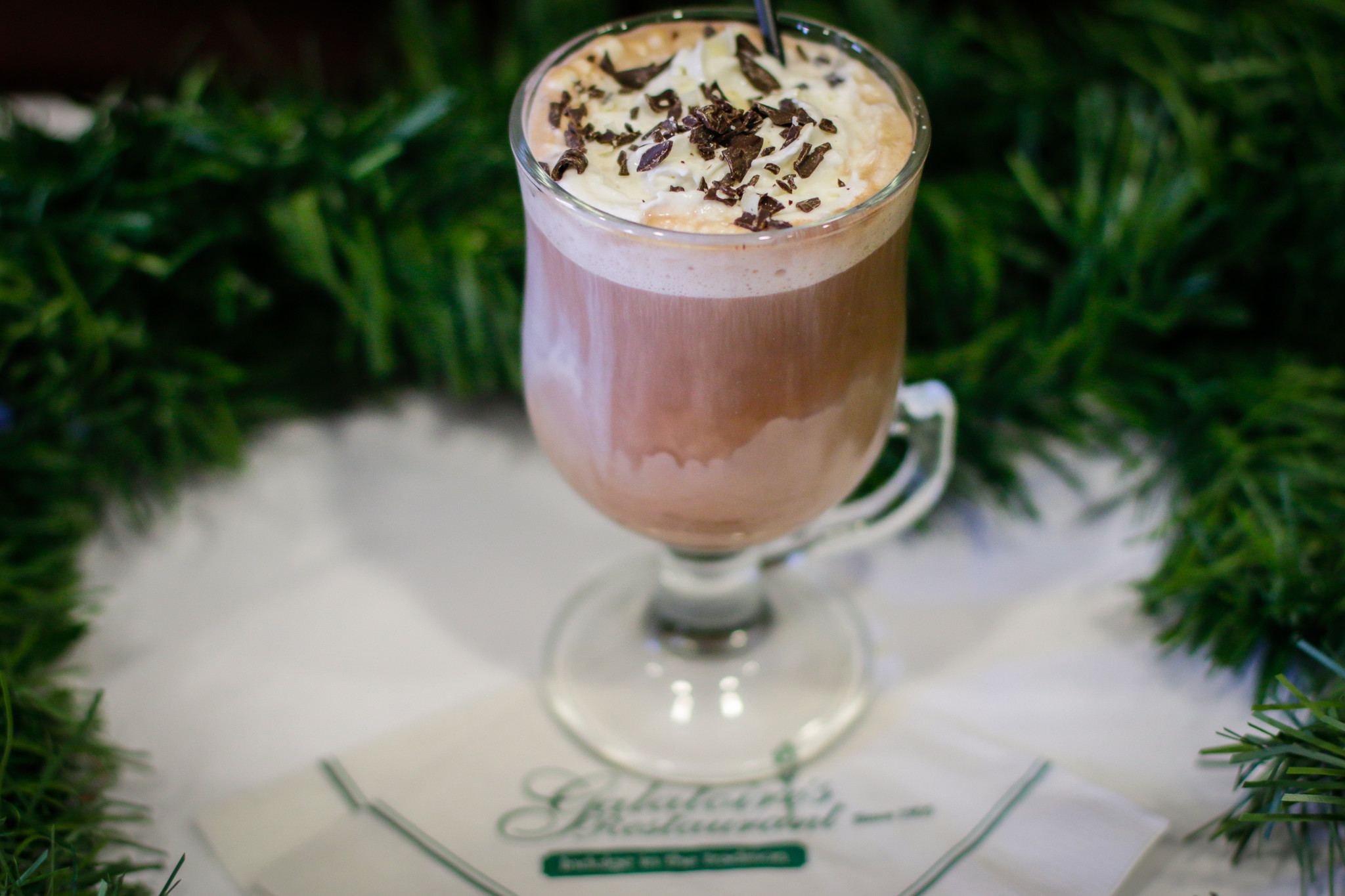 A chocolately, warming cocktail from Galatoire's. (Photo: Rebecca Ratliff)