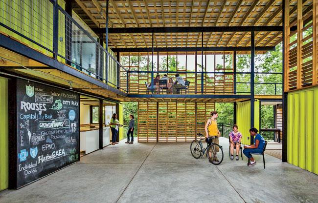 Grow Dat Youth Farm. (Photo via Tulane School of Architecture)