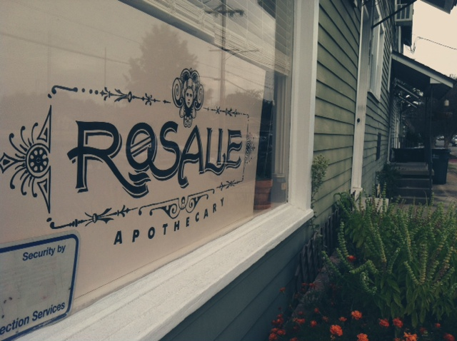 Rosalie Apothecary (photo by Liz Beeson)