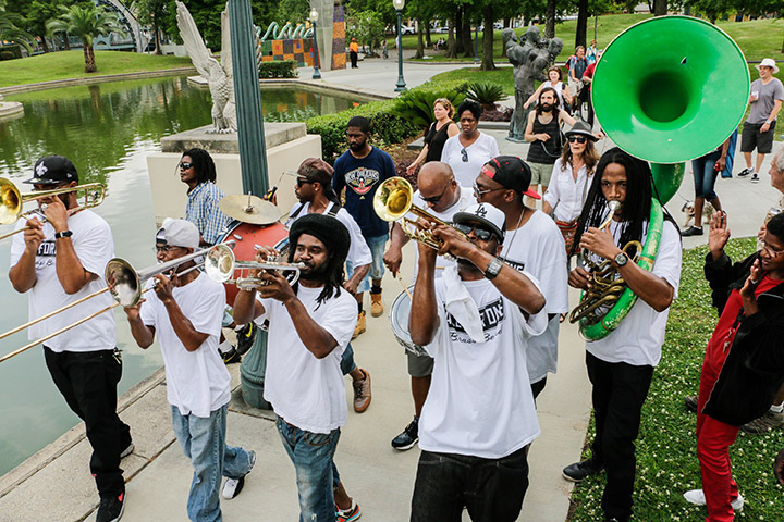 Get out and hear great music at Jazz in the Park on Thursdays (Photos: Rebecca Ratliff)