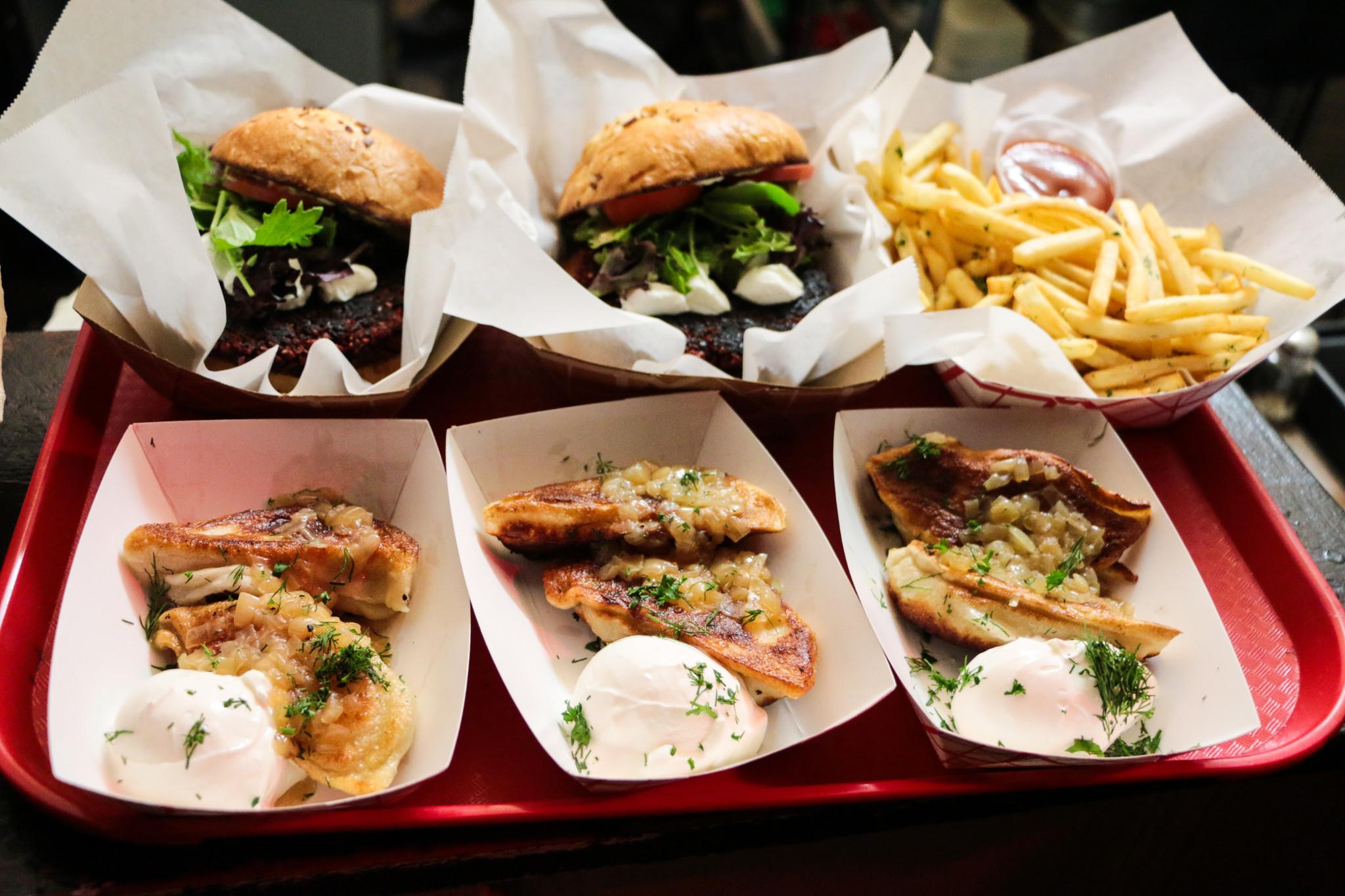 Bar food with a Ukranian twist at KUKHNYA. (Photo: Rebecca Ratliff)