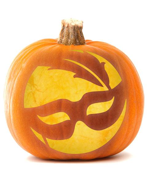 masquerade pumpkin