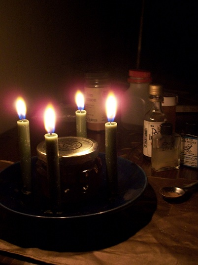 New Orleans Voodoo candles
