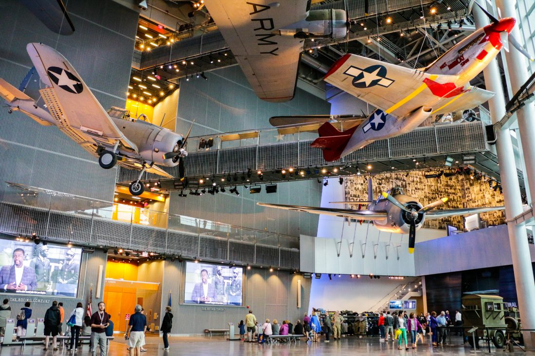 national WWII museum planes