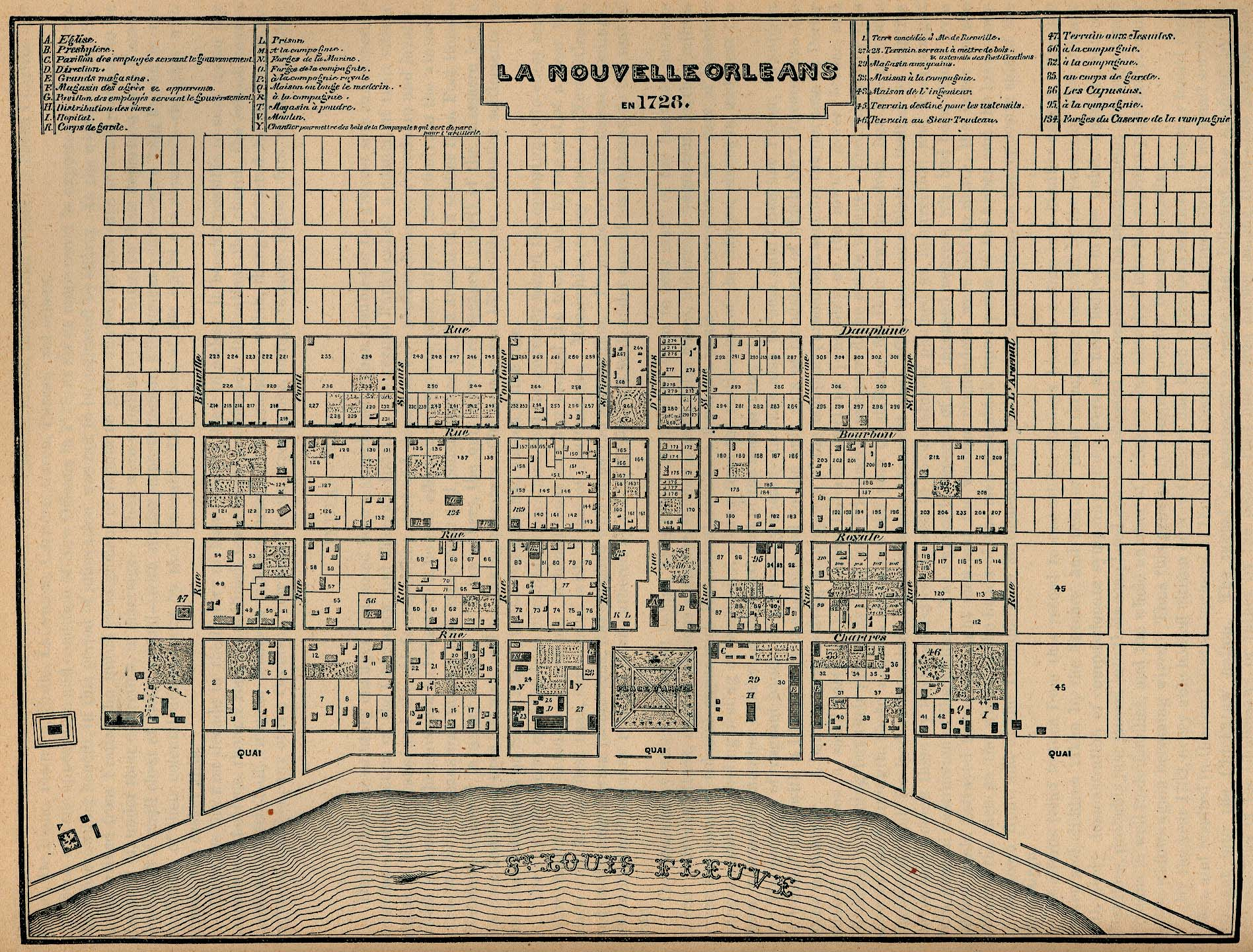 nola history 8 fascinating old new orleans maps gonola