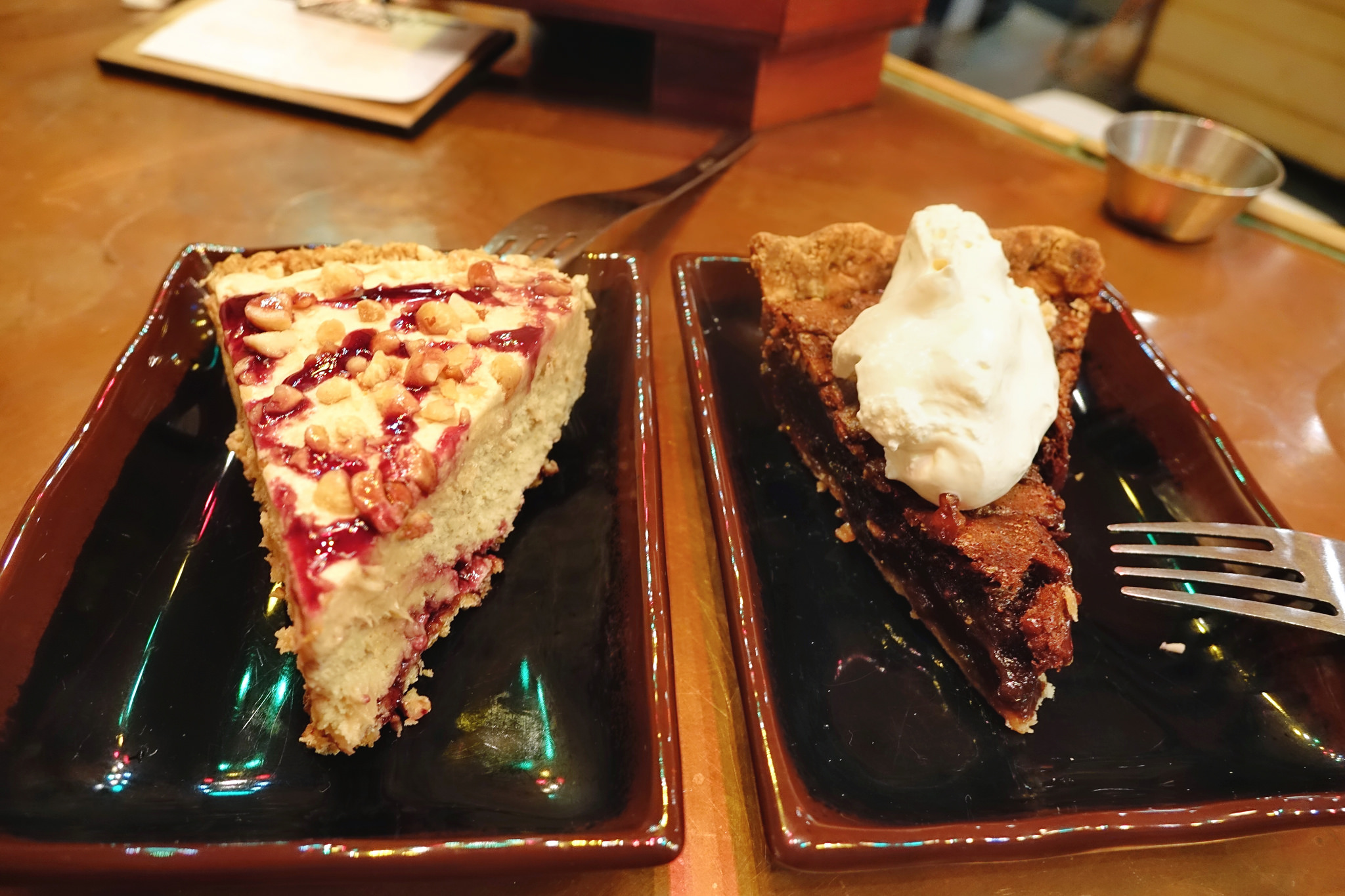 Two house-made pies from Noodle and Pie. (Photo: Paul Broussard)