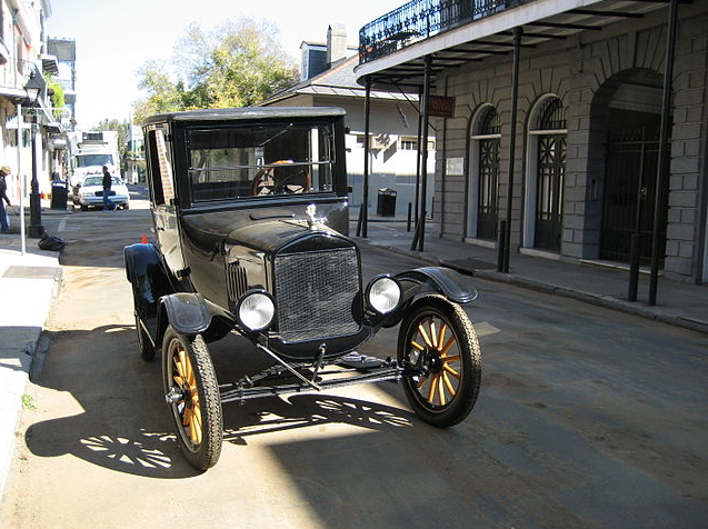 old ford model t royal street new orleans