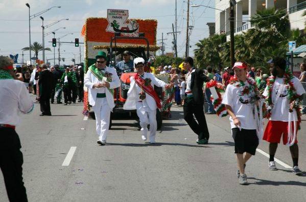 New Orleans Irish-Italian parade