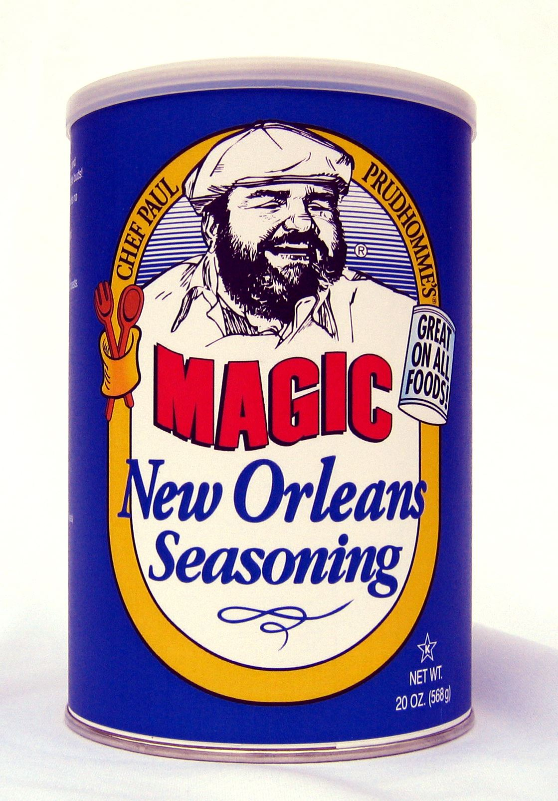 "Chef Paul Prudhomme's ""Magic"" seasoning is a must-have. (Photo via Magic Seasoning Blends on Facebook)"