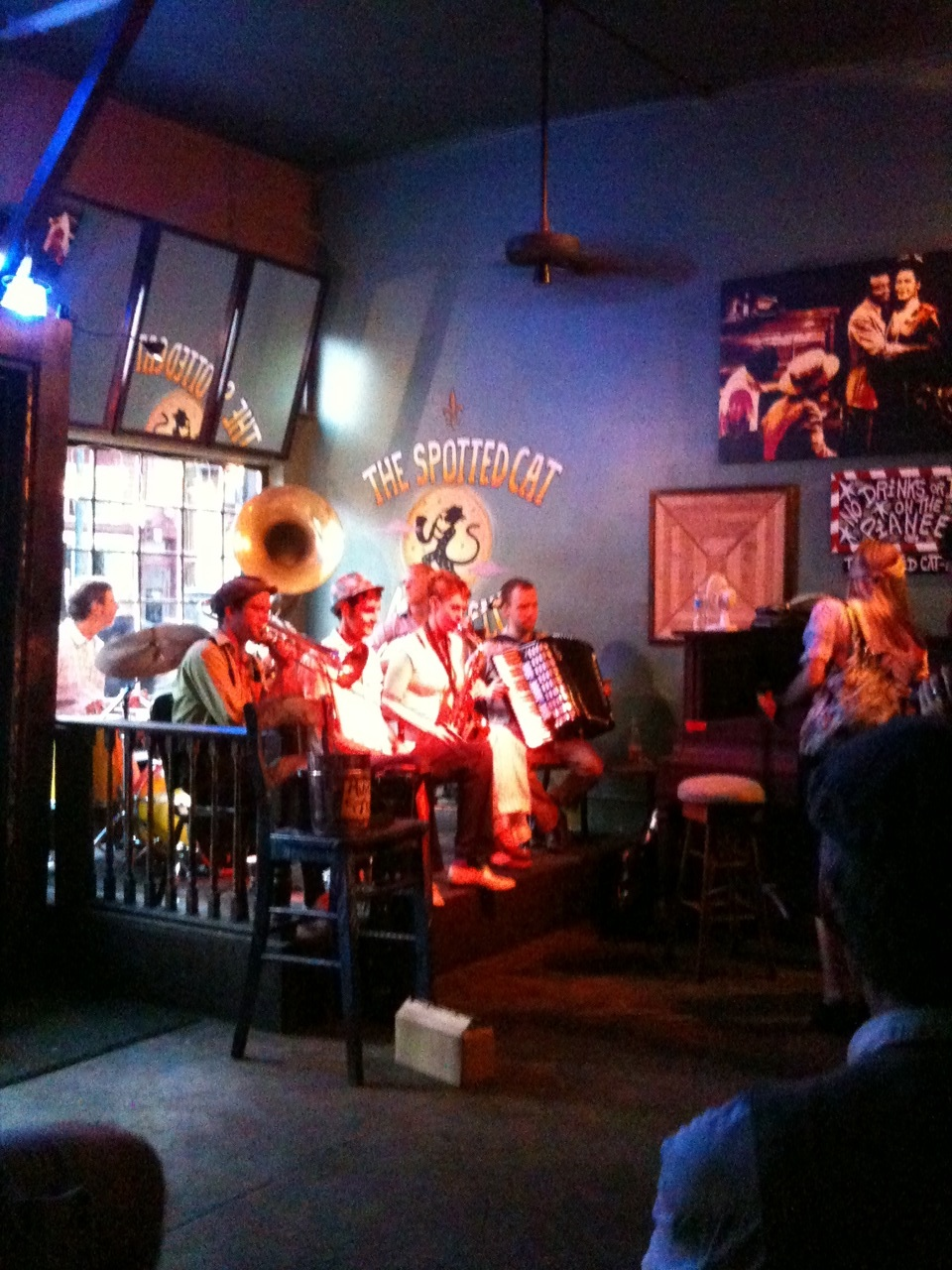report on new orleans jazz band