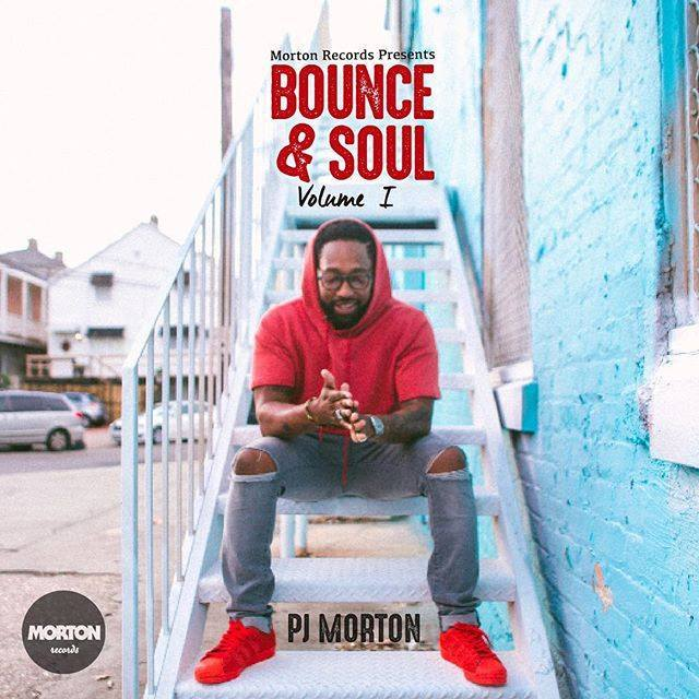 Bounce & Soul Volume 1 will be available starting March 25. The day before, select local PJ's Coffee locations will offer the mixtape for free. (Photo via PJ Morton on Facebook)