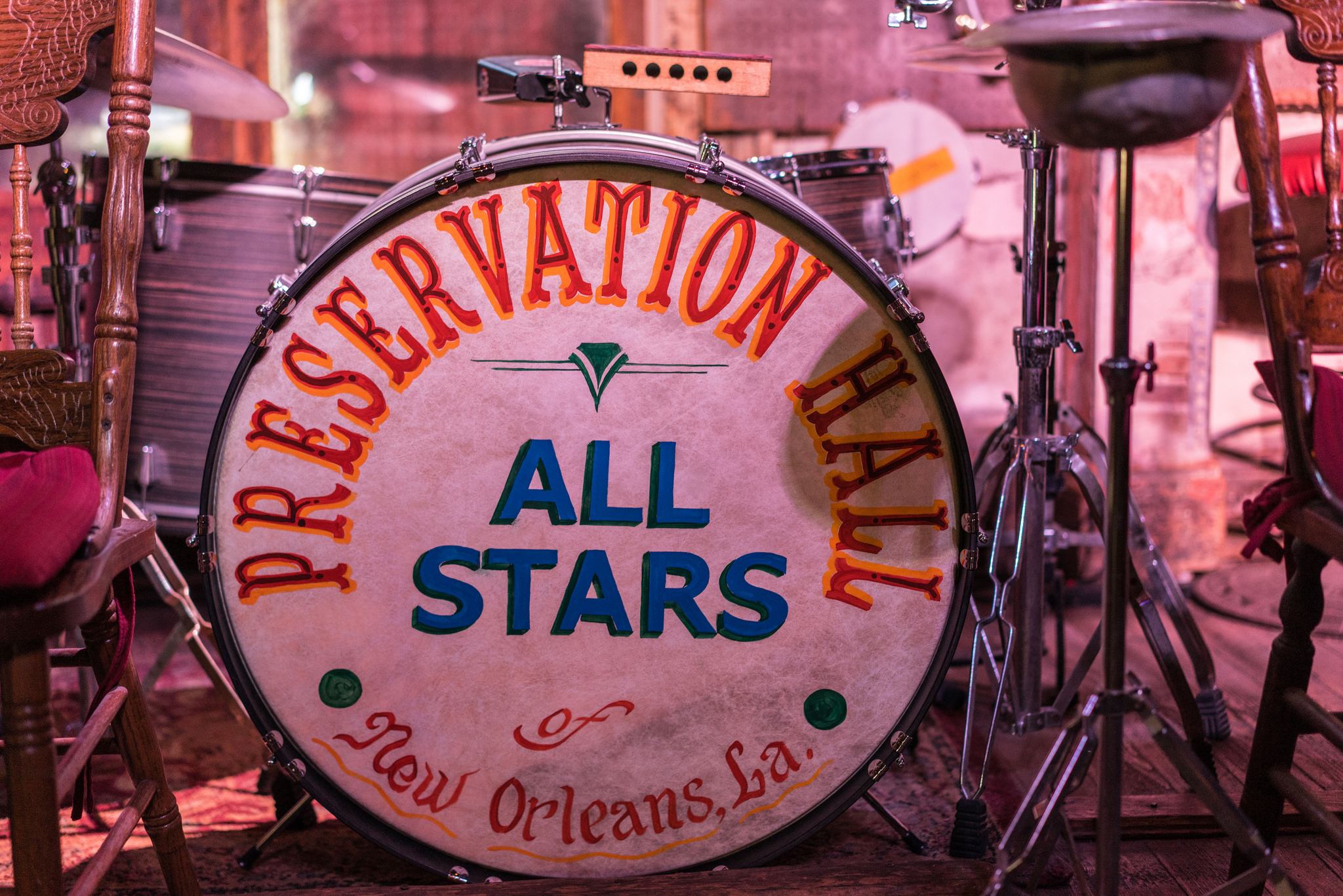 Visit Preservation Hall for nightly shows in the weekdays between Jazz & Heritage Festival. (Photo: Paul Broussard)