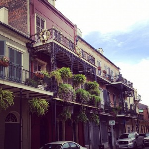New Orleans French Quarter architecture