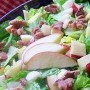 GoNOLA Recipes at Home: Apple Brie and Walnut Salad with Orange Champagne Vinaigrette t