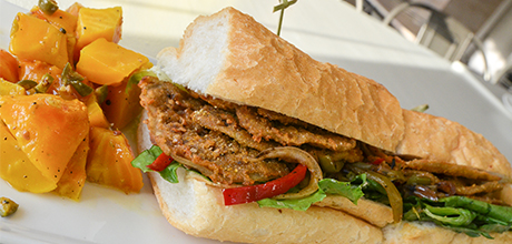 seed new orleans eggplant poboy
