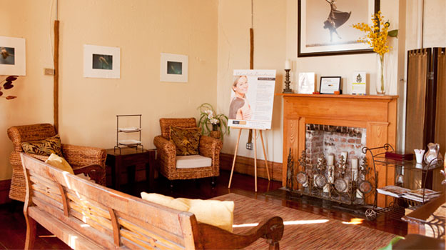 Spa Isbell offers a private room on its second floor that you can reserve for your party