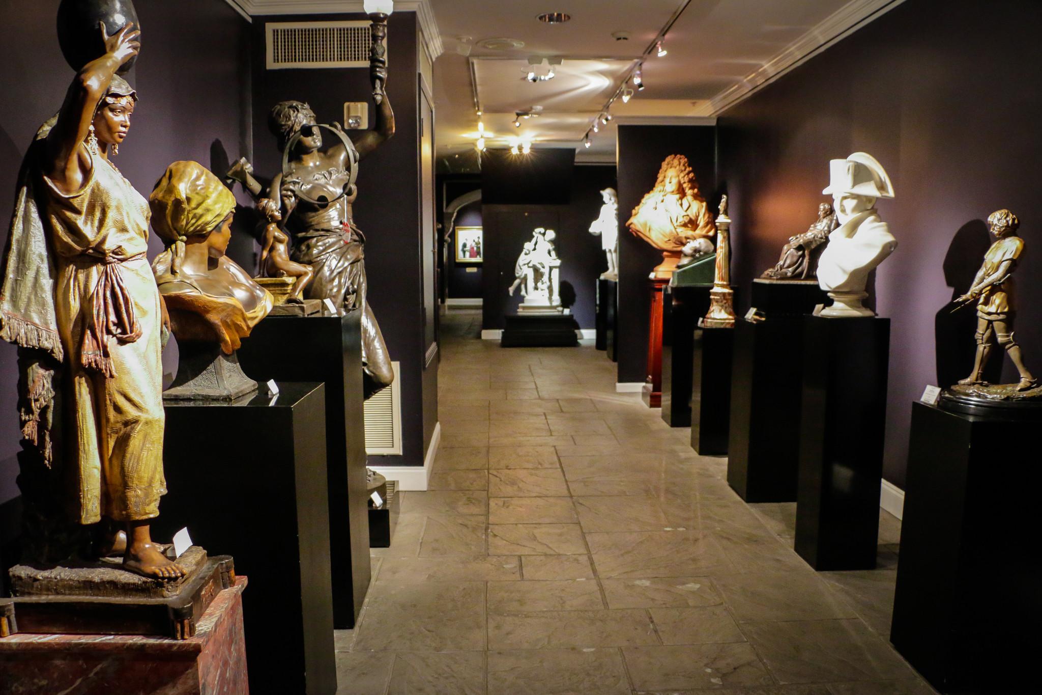 Part of the secret room inside M.S. Rau Antiques. (Photo: Rebecca Ratliff)