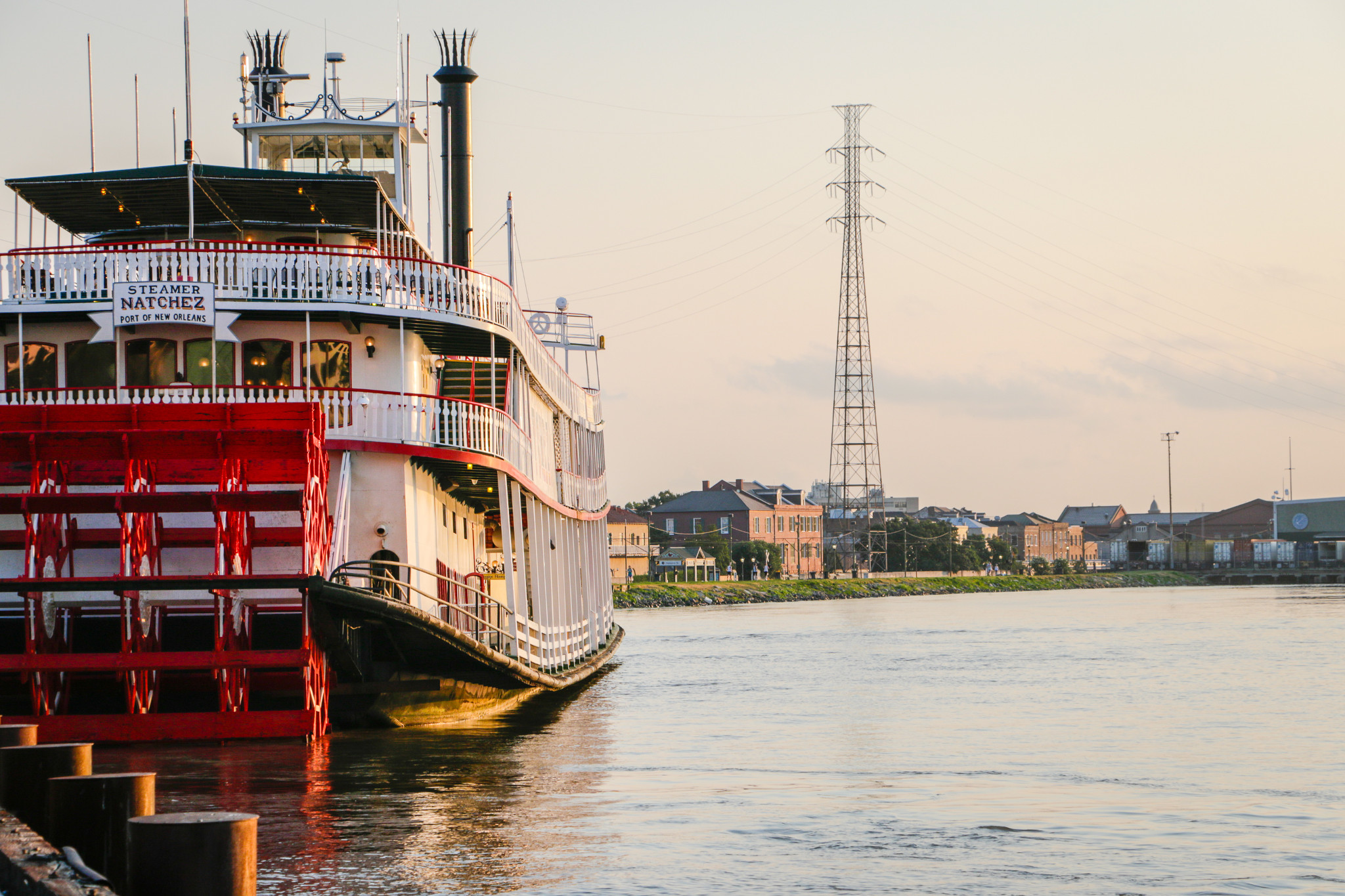 Steamboat Natchez. (Photo: Rebecca Ratliff)