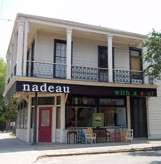 Nadeau Furniture For The Soul On Magazine Street