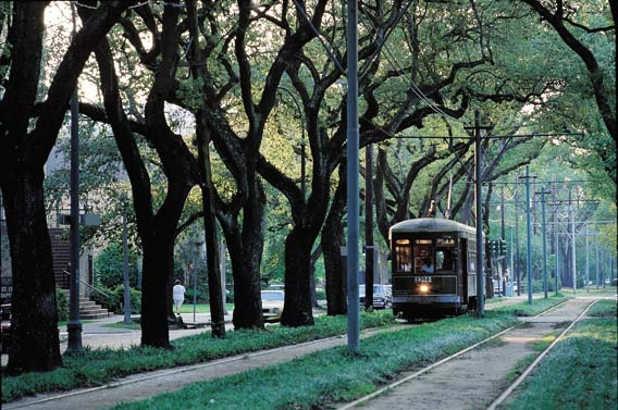 New Orleans Street Car Ride